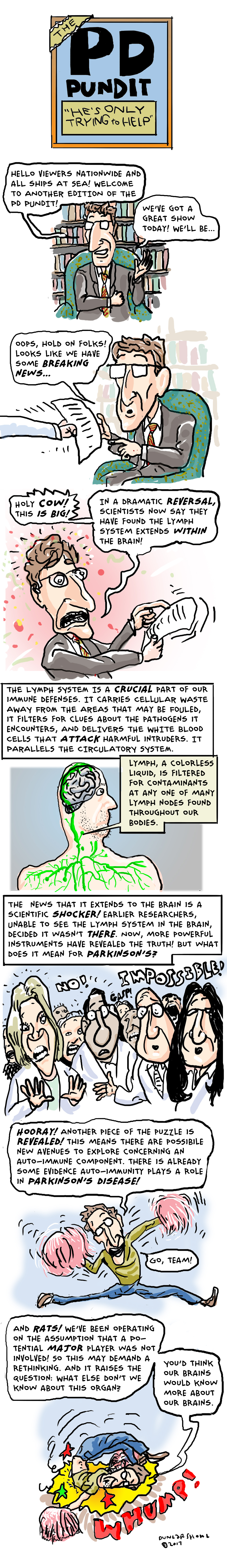 The PD Pundit: The Lymphatic System