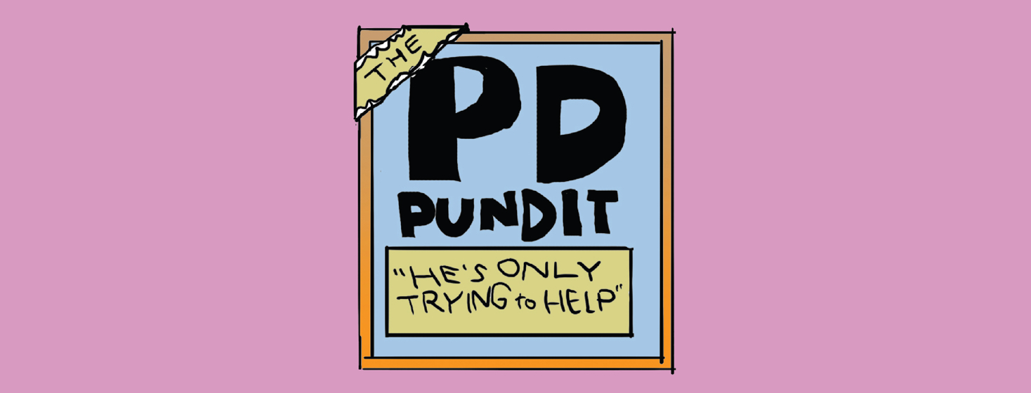 PD Pundit: Falling & What To Do About It (Part Two)
