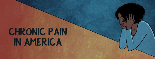 Chronic pain in america infographic