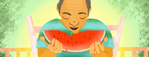 A Personal Reflection on Watermelon, Parkinson's, & Chaos image
