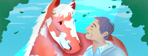 """Parkinson's and """"Healing with Horses"""" image"""